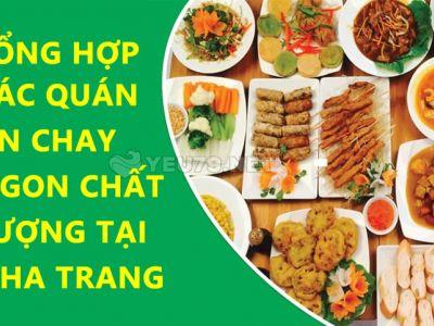 Những nhà hàng và quán ăn chay ngon, sạch, chất lượng tại Nha Trang